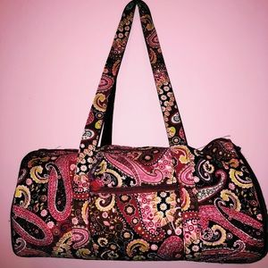 Handbags - Floral duffel bag and tote bag